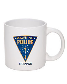 Hawkins Police Department Hopper Mug - Stranger Things