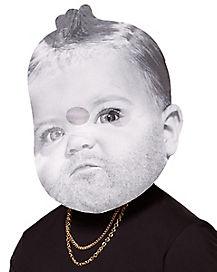 Bearded Baby Mask