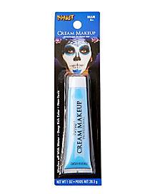 Light Blue Cream Makeup