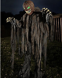 6 Ft Pumpkin Patch Prowler Animatronics – Decorations