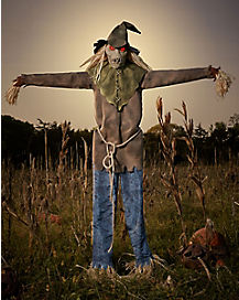6 Ft Looming Strawman Animatronics – Decorations
