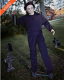 6 ft michael myers animatronics decorations halloween h20