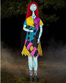 58 ft sally animatronics decorations the nightmare before christmas - Disney Princess Outdoor Christmas Decorations