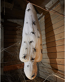 5.5 Ft Cocooned Corpse Animatronics – Decorations