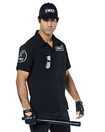 Adult Swat Costume Kit