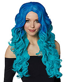 Blue Curls Wig - The Signature Collection