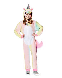 Kids Rainbow Unicorn Union Suit