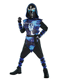 kids light up extreme lightning ninja costume