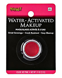 Hot Pink Water Activated Makeup