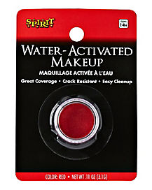 Red Water Activated Makeup