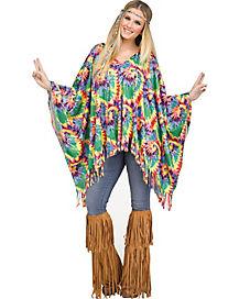 Hippie Poncho Set