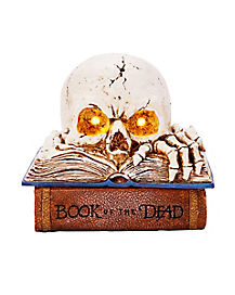 LED Light-Up Skull Book