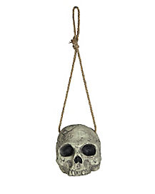 Decrepit Hanging Skull - Decorations