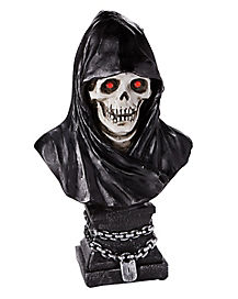 2 Ft Light Up Grim Reaper Bust - Decorations
