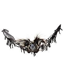 2.5 Ft Hanging Black Bat - Decorations