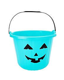 Blue Pumpkin Treat Bucket