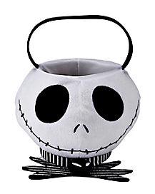 Jack Skellington Plush Treat Bucket - The Nightmare Before Christmas