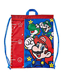 Super Mario Bros. Cinch Bag - Nintendo
