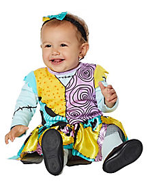 Baby Sally Dress Costume - The Nightmare Before Christmas