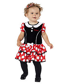 Baby Minnie Mouse Dress - Disney  sc 1 st  Spirit Halloween & Best Mickey Mouse Halloween Costumes | Minnie Mouse ...