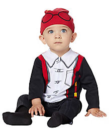 Baby Harry Potter Coveralls Costume and Hat