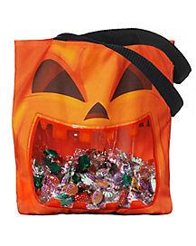 Pumpkin Window Tote Bag