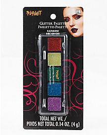 Rainbow Glitter Palette - 5 Count