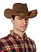 YH DELUXE BWN COWBOY HAT