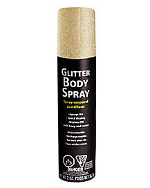 Gold Glitter Body Spray