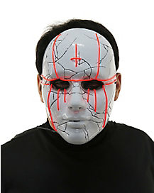 Light Up Evil Priest Mask