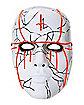Light Up EL Wire Evil Priest Half Mask