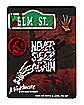 Freddy Krueger Pin and Patch Set - A Nightmare on Elm Street