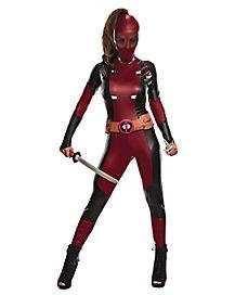 adult deadpool costume marvel