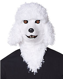 Moving Mouth Poodle Mask