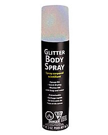 Iridescent Glitter Body Spray