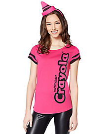 Halloween Crayon Costume Youth T Shirt