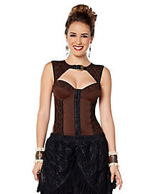 Steampunk Flock Top