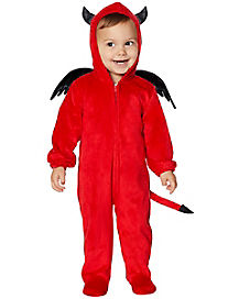 baby lil devil one piece costume