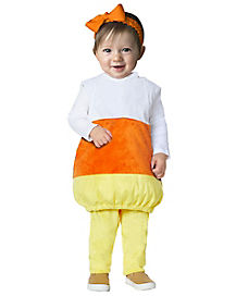 Baby Candy Corn Belly Costume