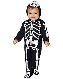 Toddler Skeleton Coveralls