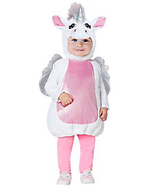 Baby Unicorn Belly Costume