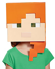 Kids Alex Mask - Minecraft