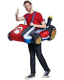Adult Mario Kart Inflatable Costume - Mario Kart  sc 1 st  Spirit Halloween & Best Mario Bros Halloween Costumes | Luigi Halloween Costumes ...