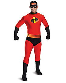 Adult Mr. Incredible Skin Suit Costume - The Incredibles 2  sc 1 st  Spirit Halloween & Incredibles Halloween Costumes for Adults u0026 Kids - Spirithalloween.com