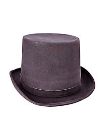 Deluxe Gray Top Hat