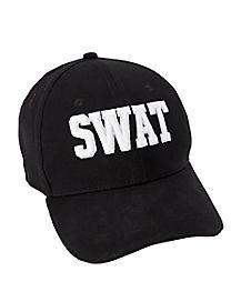 Kids Black SWAT Cap