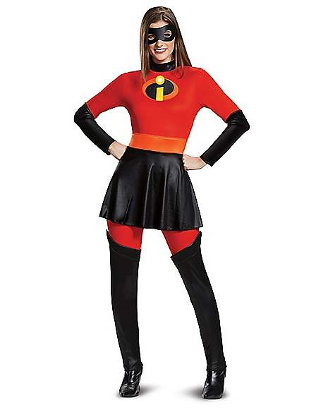 Adult Mrs Incredible Costume The Incredibles 2 Spirithalloween Com
