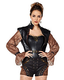 Steampunk Spiked Jacket