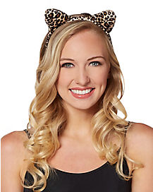 Leopard Ear Headband