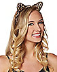 Leopard Ear Headband